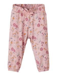 Bilde av Name it, Nbflove rosa bukse med blomster